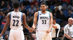 Karl Anthony Towns & Andrew Wiggins