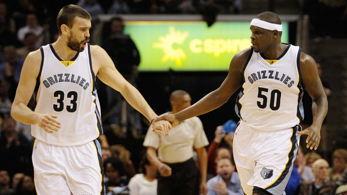 Marc Gasol and Zac Randolph (Photo: FOX sports)